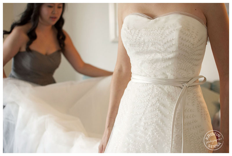 Wedding Dress Detail | Wedding Photography by Kristin Serna