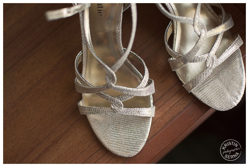 Wedding Shoes | Kristin Serna Wedding Photography
