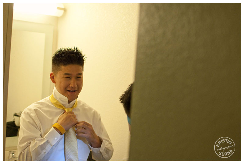 Groom Getting Ready | Wedding Photography by Kristin Serna