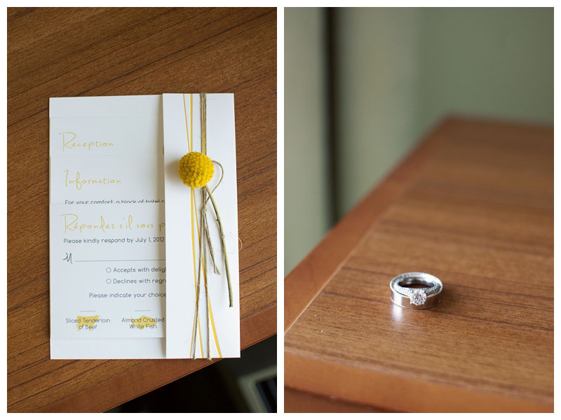 Invitation & Rings | Wedding Photography by Kristin Serna