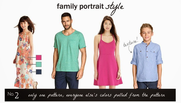 Family Photo Session Outfit Ideas Assembled by Kristin Serna