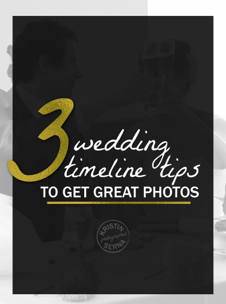 Tips for Wedding Photography Timeline
