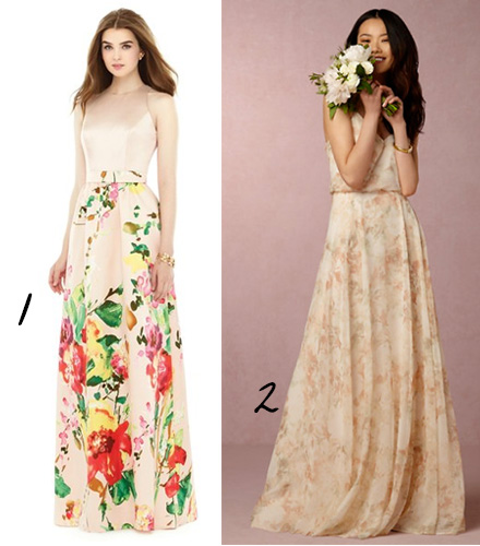 Floral Wedding Dress Ideas