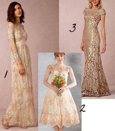 Wedding Dress Color Inspiration — Kristin Serna, Lifestyle ...