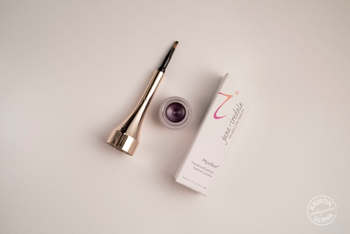 Jane Iredale Mystikol Powdered Eyeliner, photographed by Kristin Serna