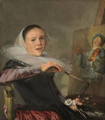 Judith Leyster, self portrait.