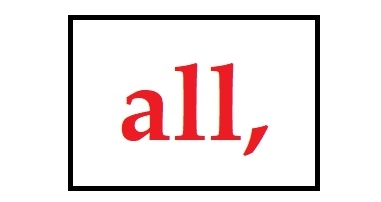 "Scavengers, here's your word. Accessibility: It's in RED, and the word is ""all"" followed by a comma."