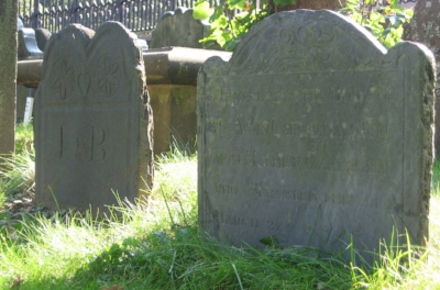 Tombstones in Halifax, Nova Scotia. We all die -- so let's read stories that reckon with those difficult issues of life.