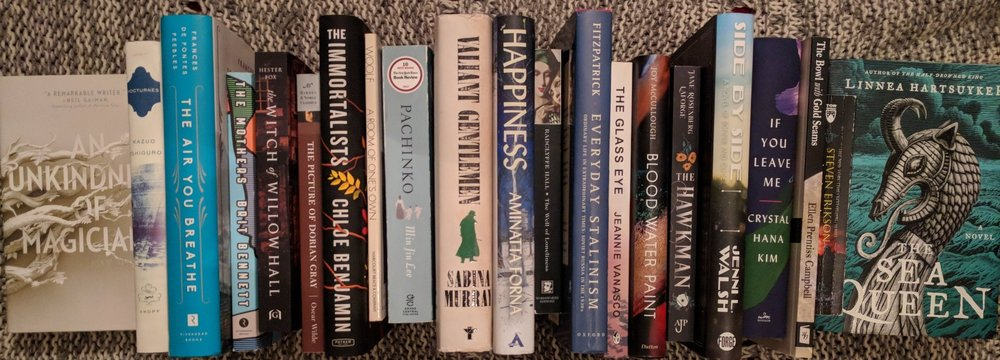 Some of the books I read this year.