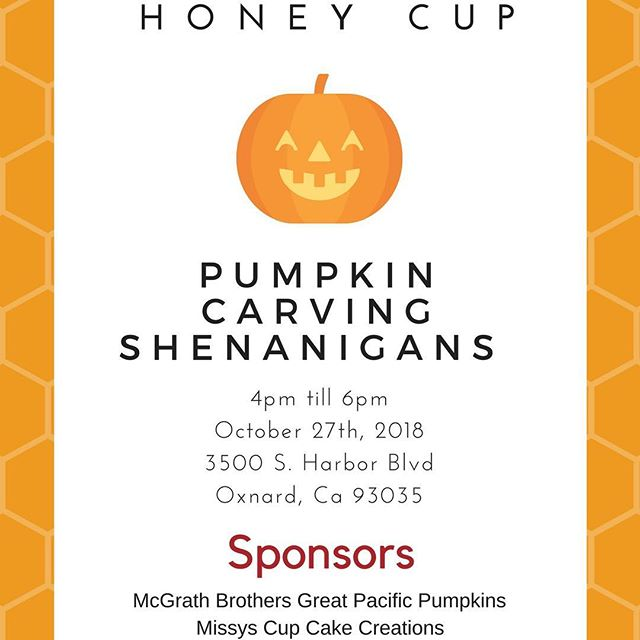 Halloween is just around the corner and we have another fun festivity up our sleeves. With the help of @mcgrathgppumpkins and @missys_cupcakes we present a free pumpkin carving family affair. In addition we have a special reservations only dinner planned. Please follow the link in our profile to learn more. Registration for the pumpkin carving and dinner are required. Since our pumpkin carving event is free it is separate from the dinner reservations. Please dm us if you have questions.