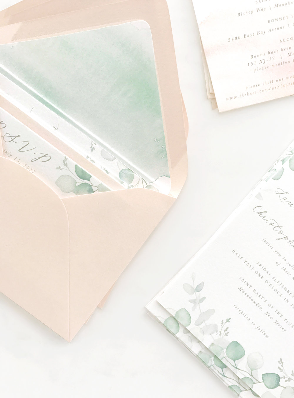 Eucalyptus Invitation Suite