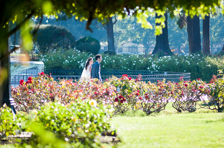 San Jose Rose Garden Wedding
