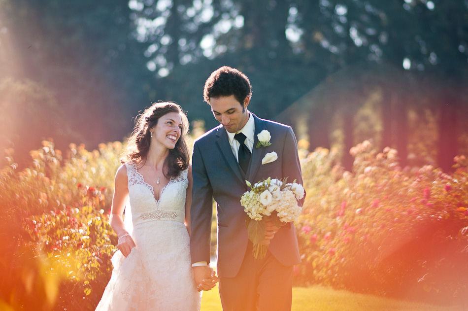 San Jose Rose Garden Wedding Photographer