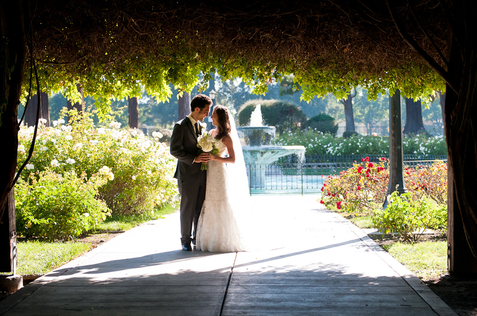 San Jose Rose Garden wedding photography