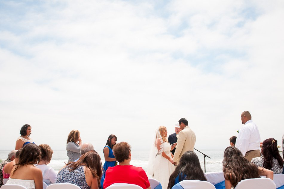 Venice Beach Half Moon Bay wedding