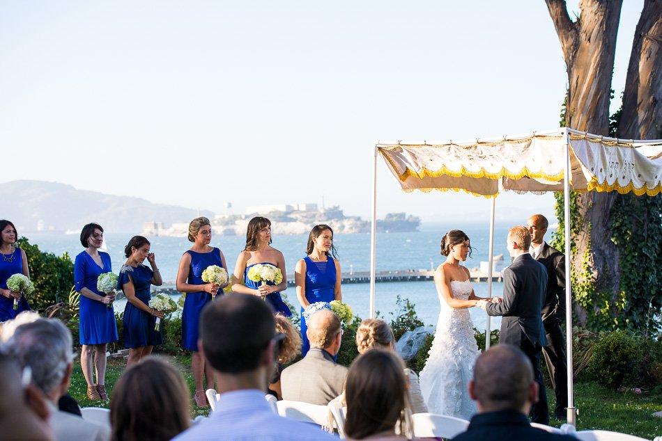 General's Residence Fort Mason wedding