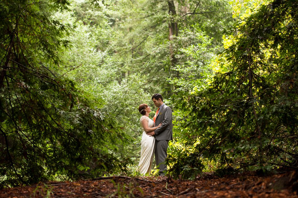 Oakland Redwood Regional Park wedding