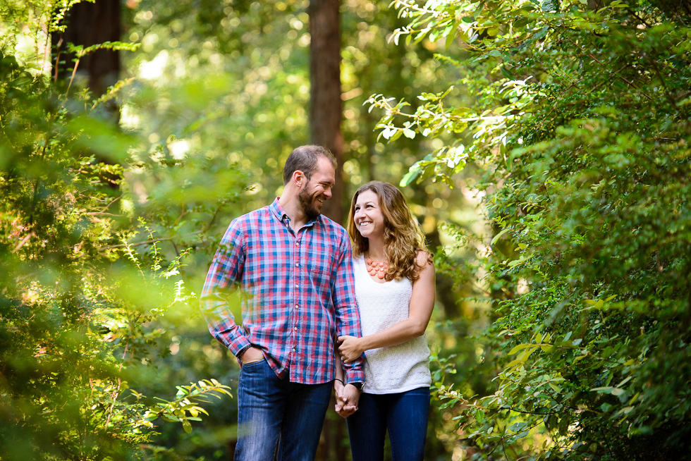 Purissima Creek Redwoods Engagement Session