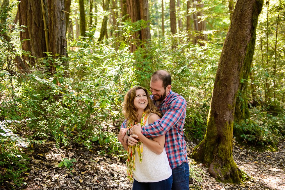 Purissima Creek Redwoods Engagement