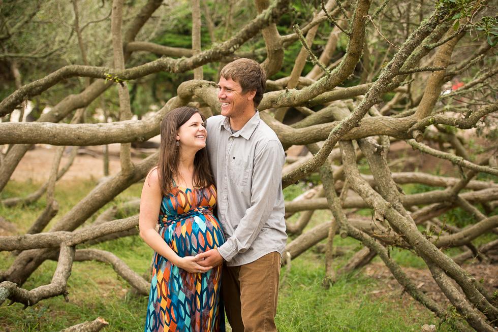 Baker Beach maternity photography