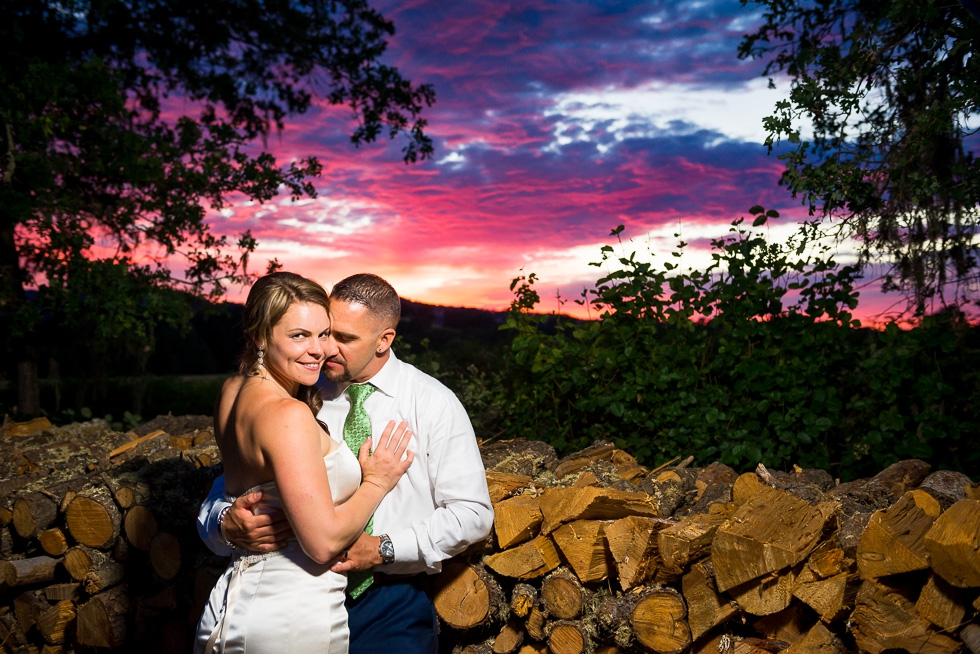 Potter Valley wedding