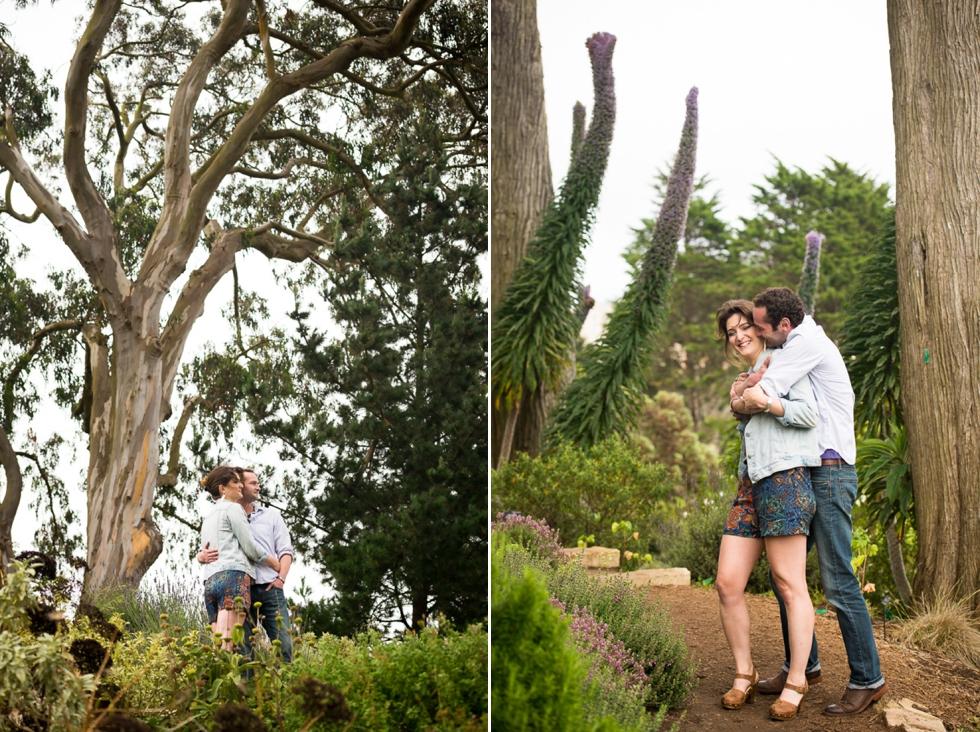 San Francisco Botanical Garden engagement session