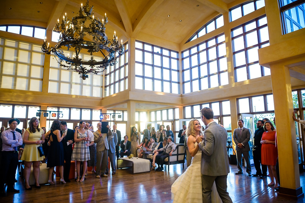 Chalk Hill Winery wedding