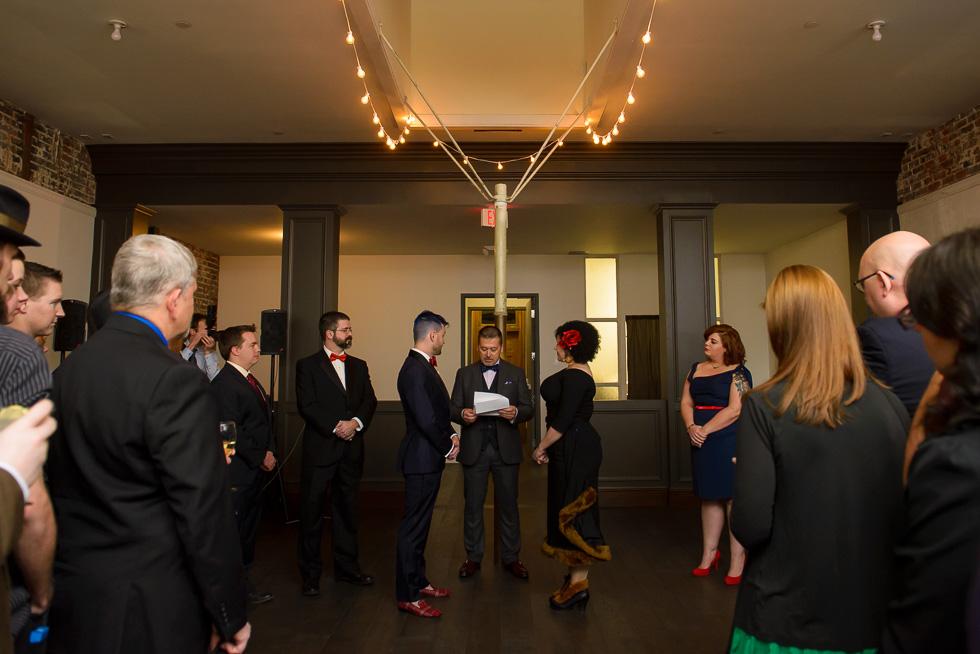 San Francisco Firehouse 8 wedding