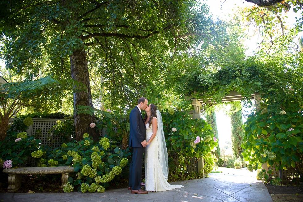 Vine Hill House wedding