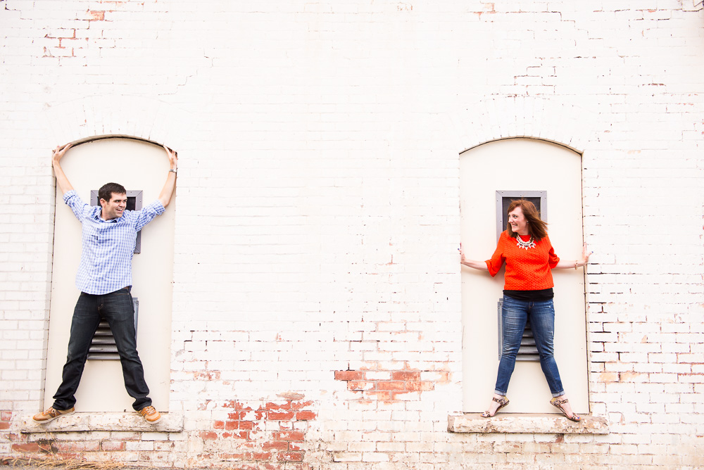 Fun couple portrait at Cavallo Point