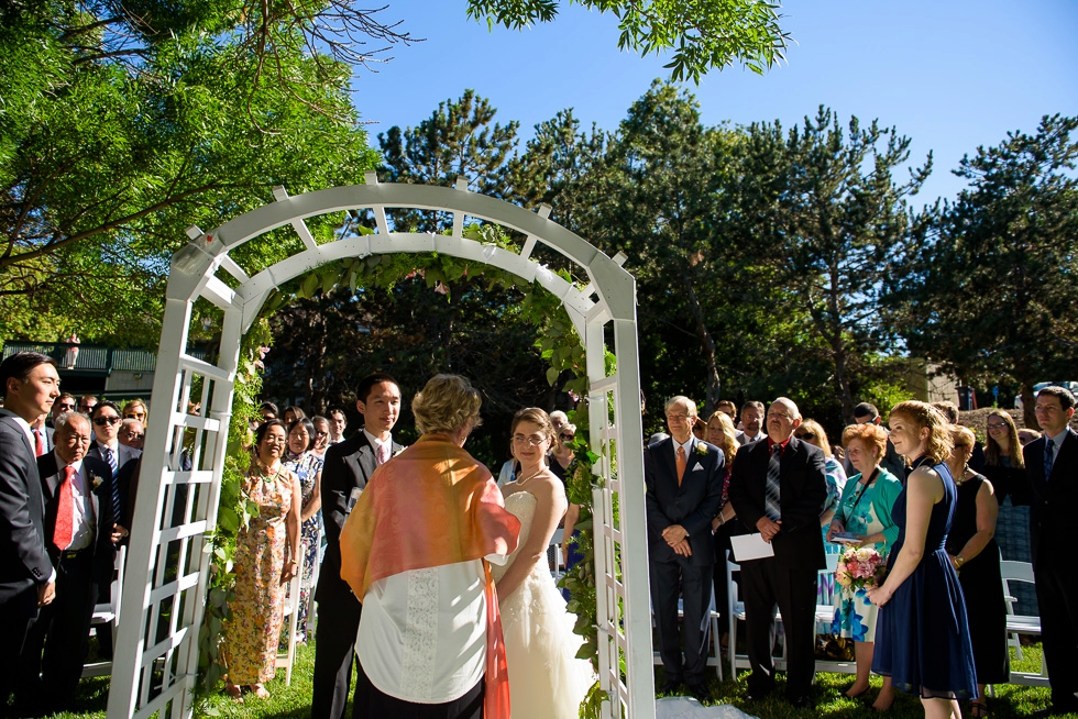 Walnut Creek wedding ceremony