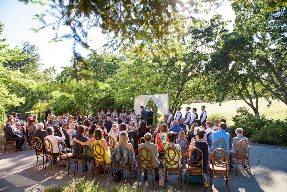 Danville backyard wedding