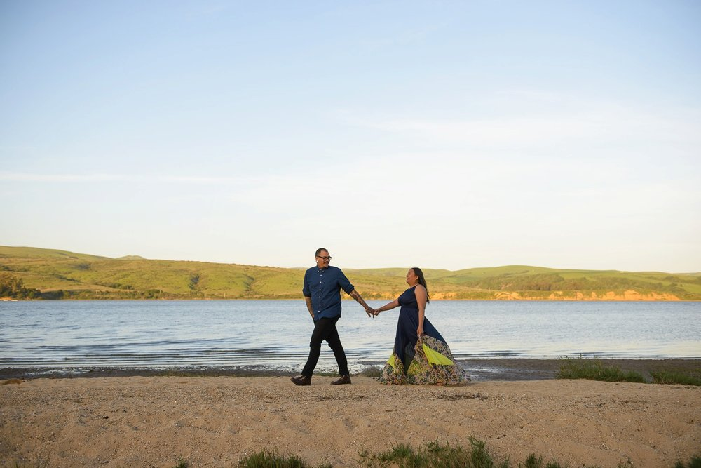 Point Reyes engagement session