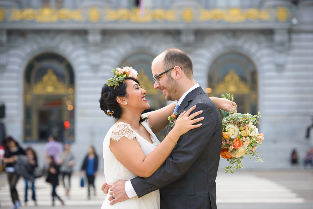 San Francisco wedding florist