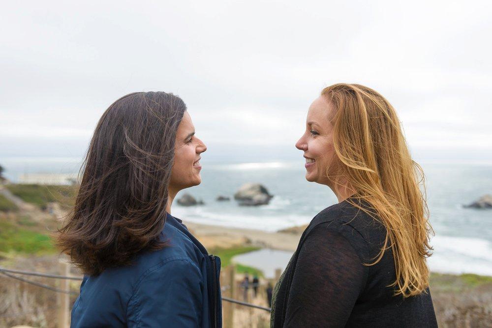 SF Lands End engagement session