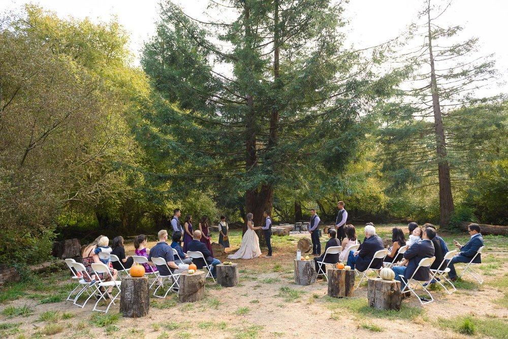 Pescadero Venture Retreat Center wedding