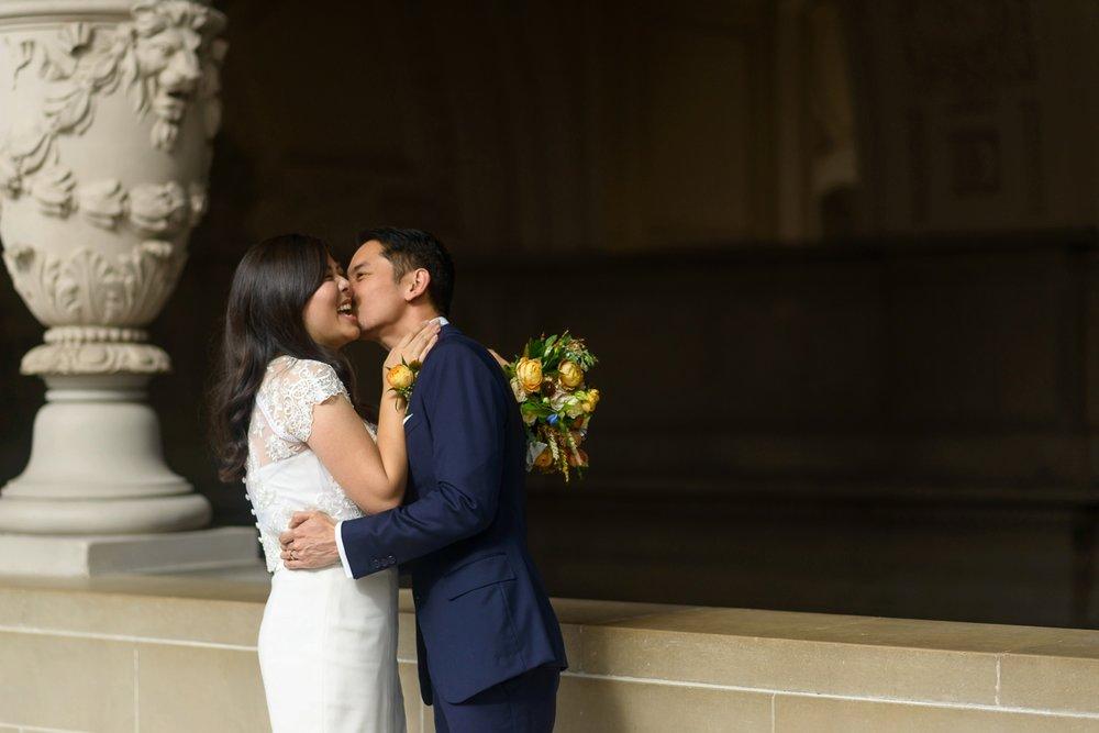 SF City Hall Fall wedding