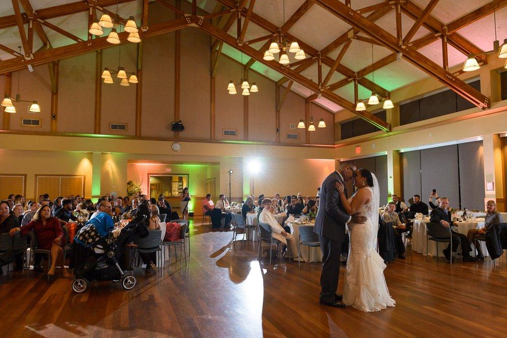 Mill Valley Community Center wedding
