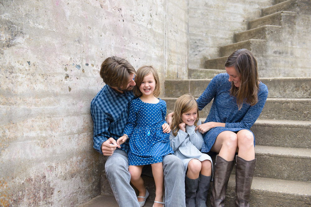 Families - A little less perfect, a lot more fun. That's where the pictures are!