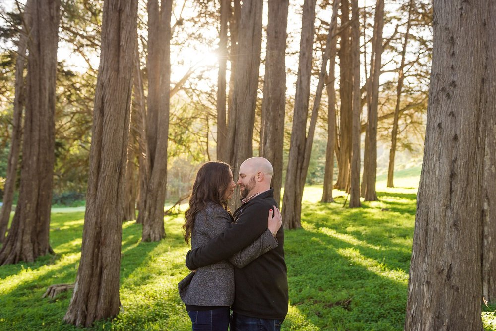 Fort Baker engagement photography
