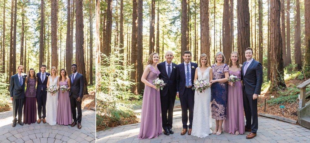 Wedding day family portrait