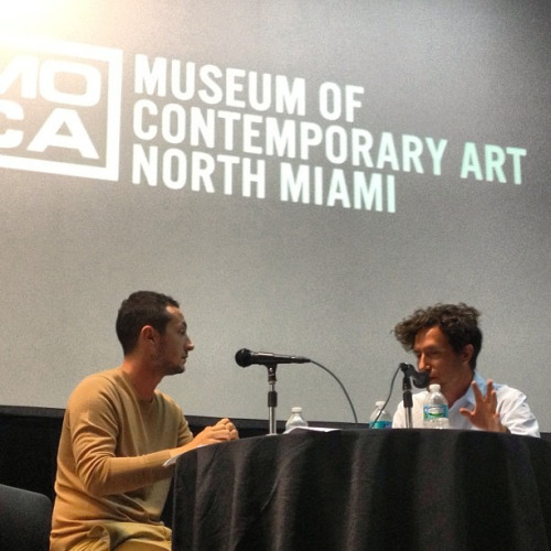 ART TALK: A Conversation with Alex Ganterfeld and Aram Moyashedi @ MOCA