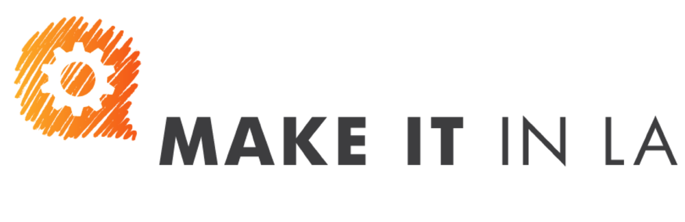 MAKE IT IN LA is a community of creators turning passions into products in Los Angeles. Through educational programming, online content, factory tours, and expert advice, we make connections that celebrate and unleash the creative potential of Los Angeles.  Greater L.A. is the largest manufacturing center in the country, and is home to a vast network of creative technologists and designers and more than 12,000 manufacturers and suppliers in industries ranging from space and special effects to food and fashion.