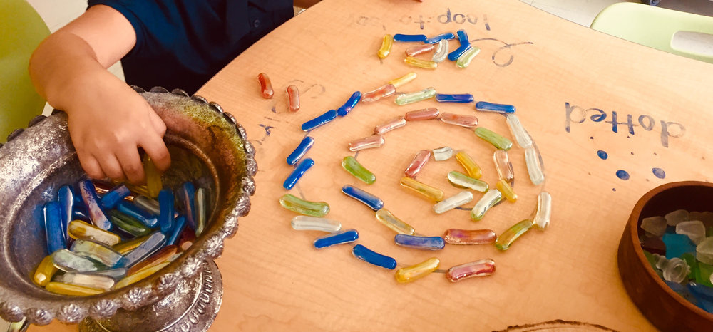 Building lines with loose parts!
