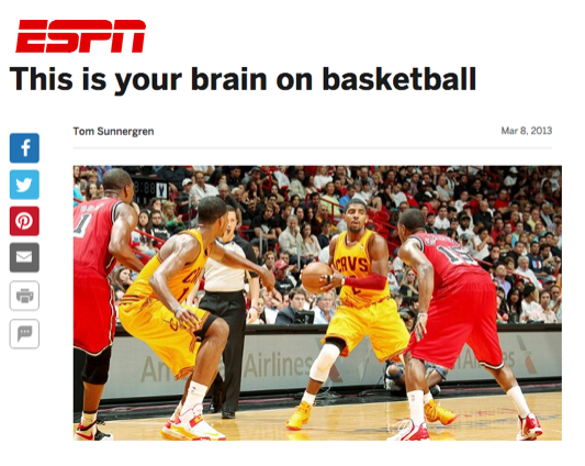 essays journalism tom sunnergren espn this is your brain on basketball