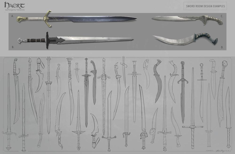 Haert Swords