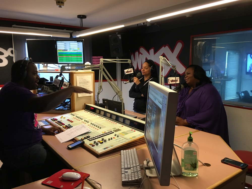 MJS Productions interview at WDKX for the Artist Showcase and Award Presentation featuring Mathew Knowles