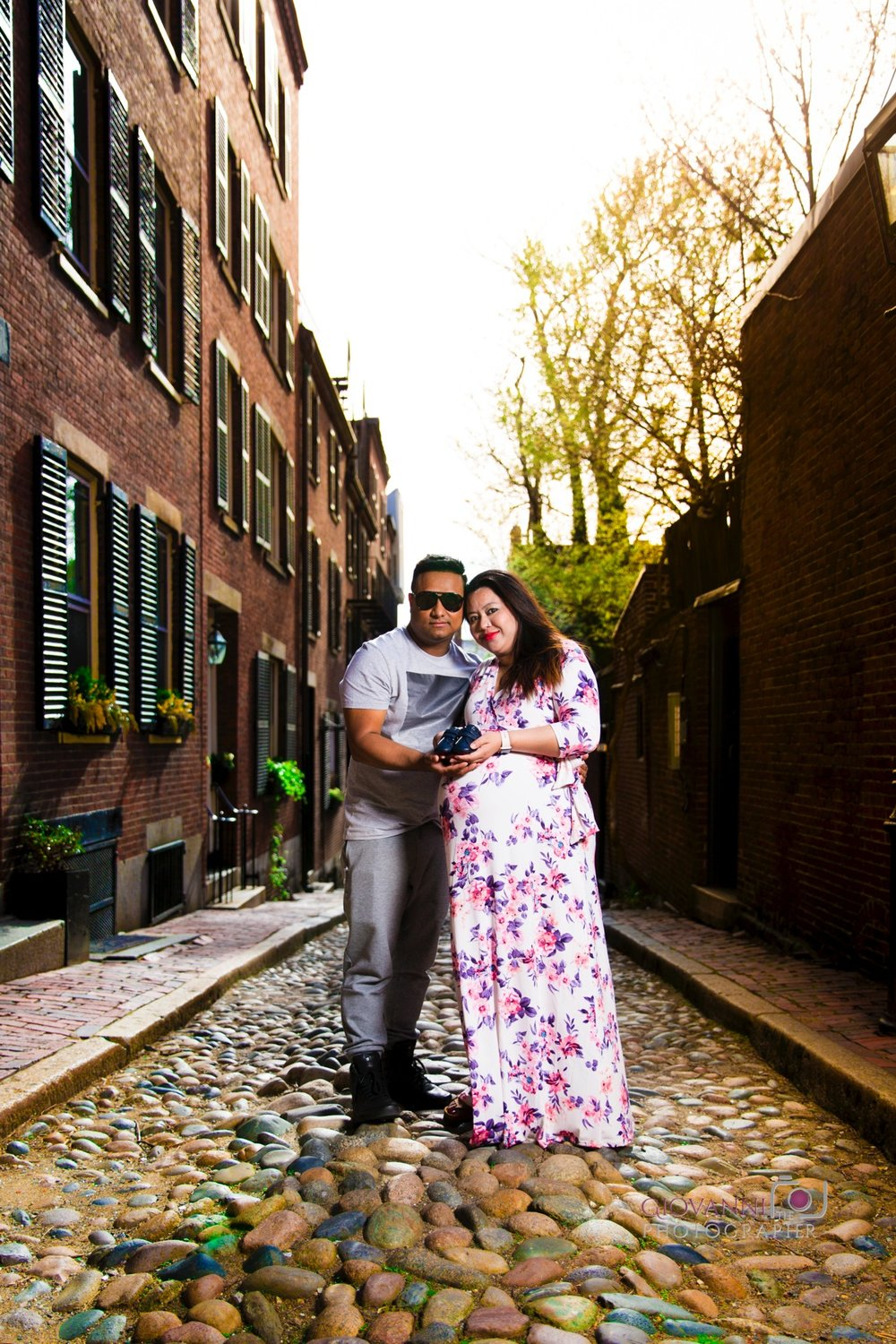 8C2A6060 Giovanni The Photographer Boston Engagement - Maternity - Newborn Photography Vikrant & Rtunasnet WM 35.jpg
