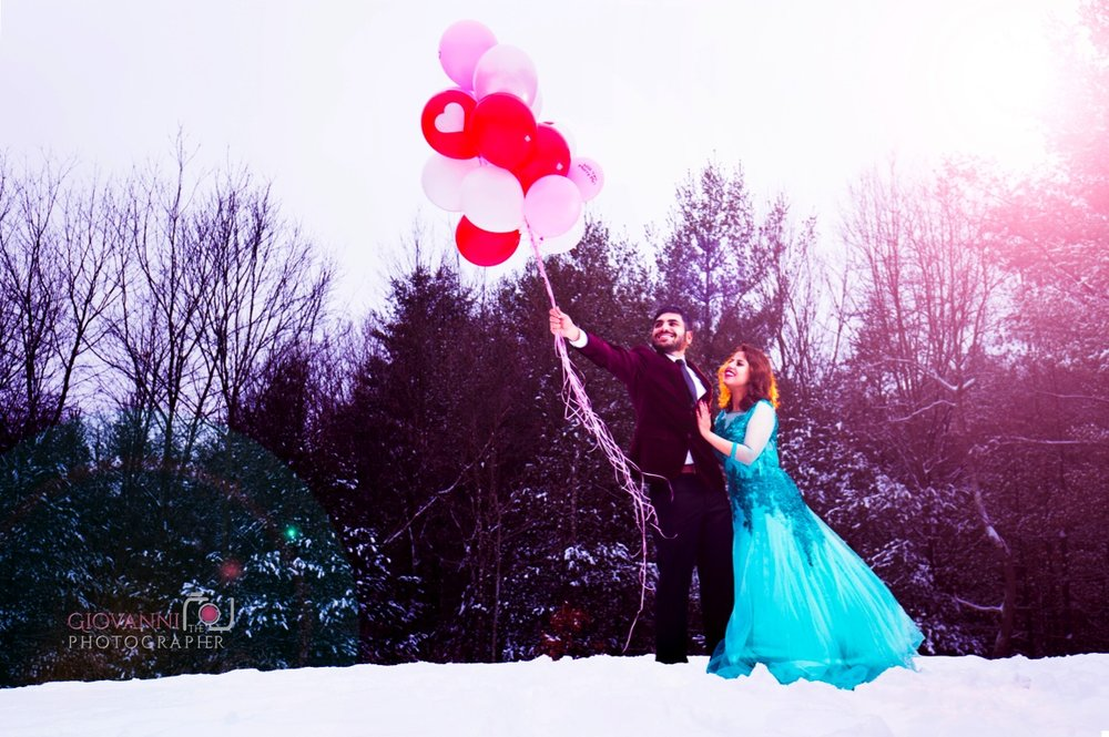Pond Meadow Park Engagement photos Braintree, MA | Manveen & Sumeet