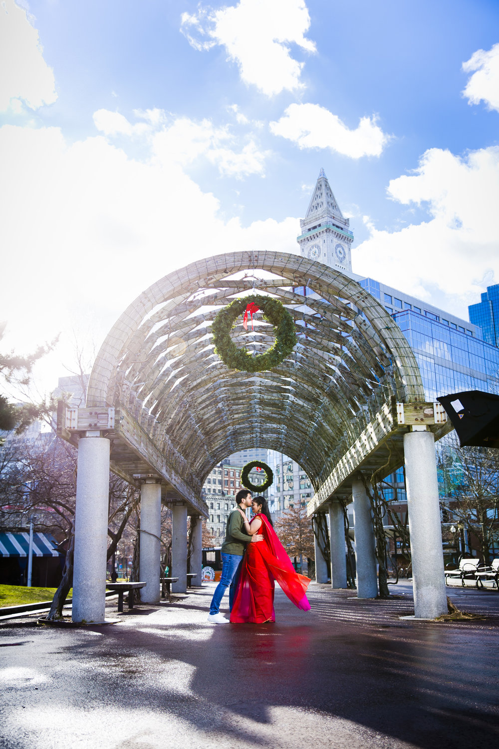 314A0852 Giovanni The Photographer Boston Engagment Photography Waterfront - Christopher Columbus Park - Public GardenPhotography School.jpg